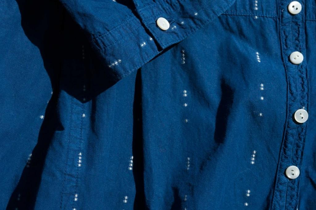 本藍染ワンピース